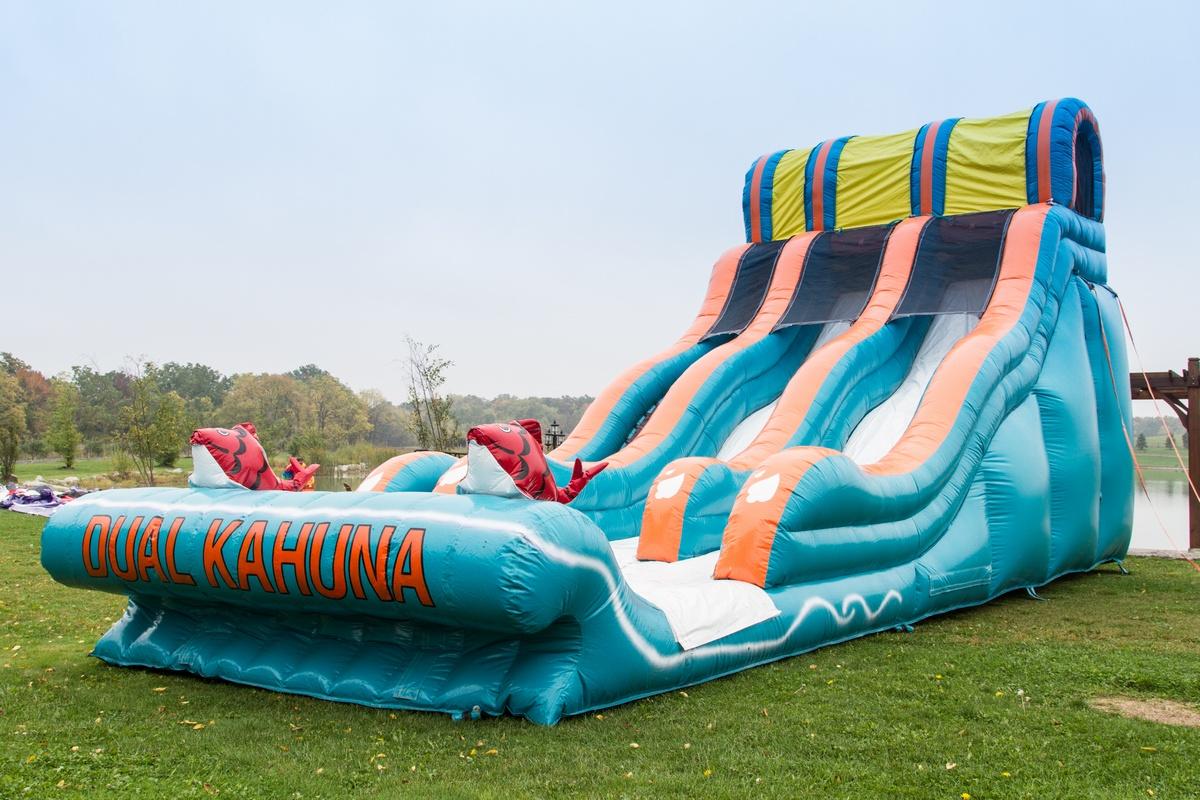 Dual Kahuna Slide Wet or Dry Slide