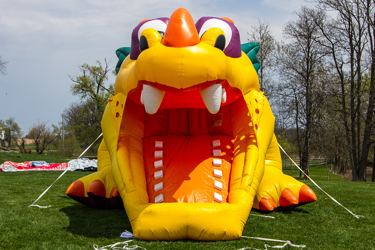Dragon Hide N Slide Toddler Combo Air Bounce Inflatables