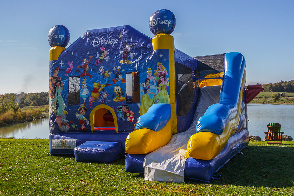 Disney 5 In 1 Combo Air Bounce Inflatables Amp Party