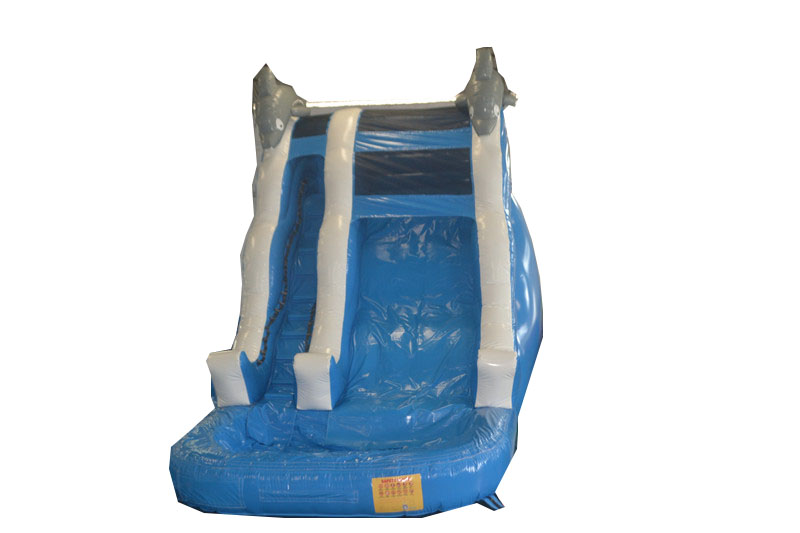 Blue Wave Wet Dry Slide Air Bounce Inflatables Amp Party