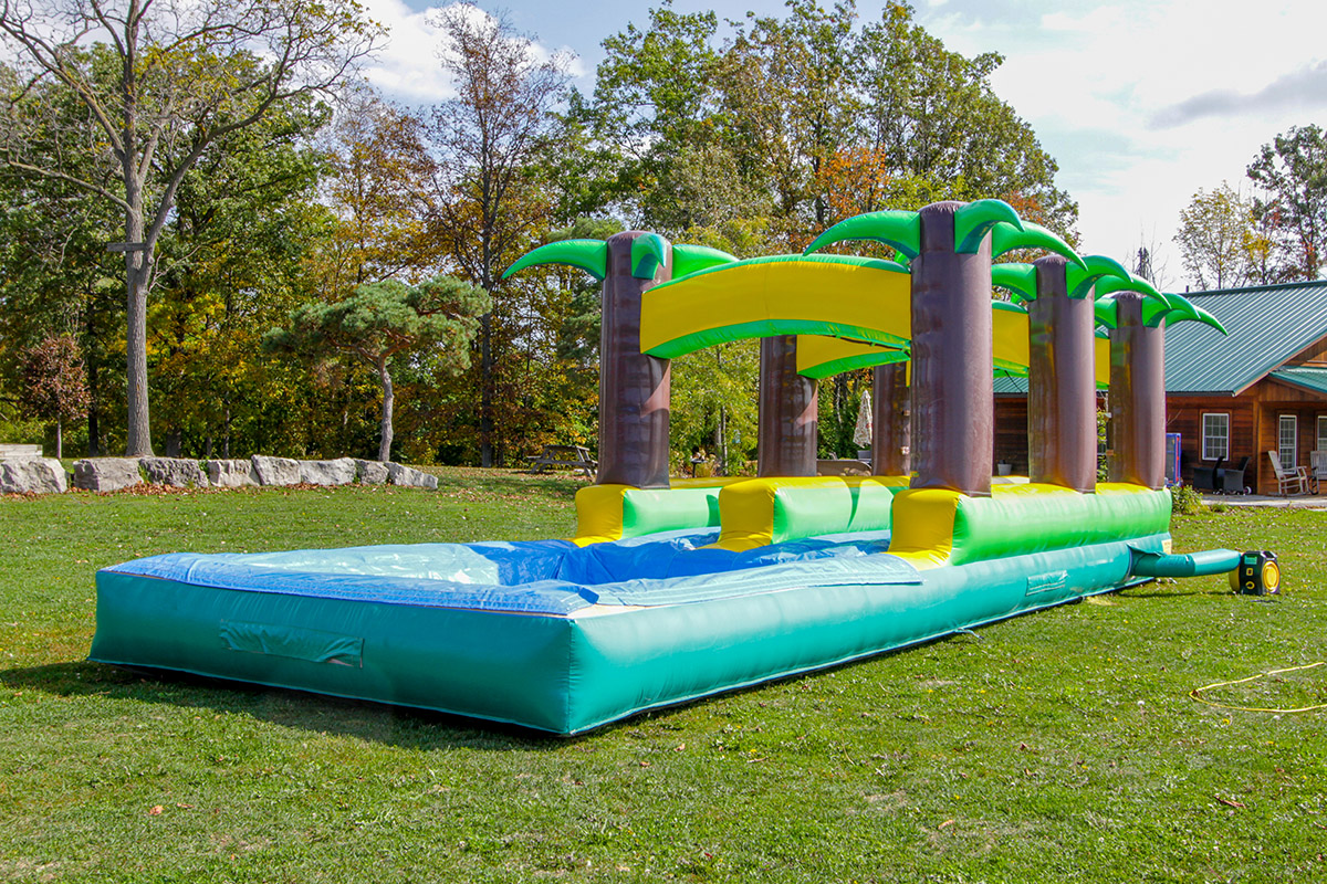 The Palms Slip N Slide Air Bounce Inflatables Amp Party