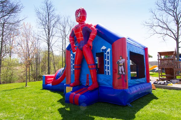 Spider Man Combo 4 In 1 Air Bounce Inflatables Amp Party