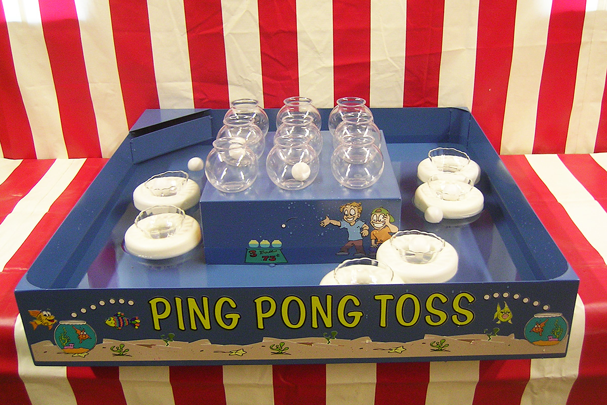 Ping Pong Toss Air Bounce Inflatables Amp Party Rentals In