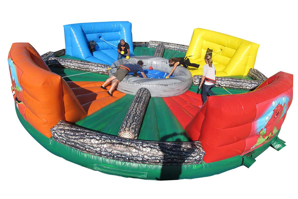 Hippo Chow Down Air Bounce Inflatables Amp Party Rentals