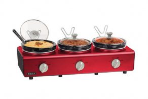 Triple Food Warmer