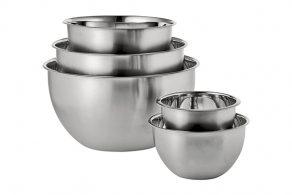 Large Metal Serving Bowls