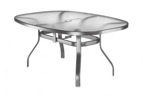 Oval Patio Table